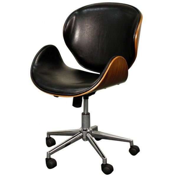 hewitt office chair, rounded back & seat - apt2b