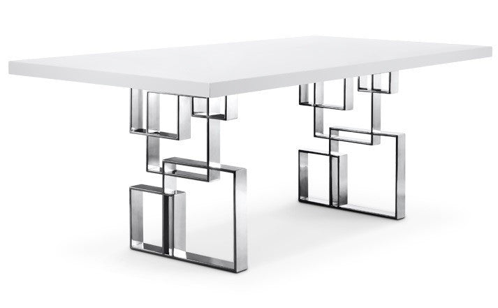 Hines Dining Table WHITE