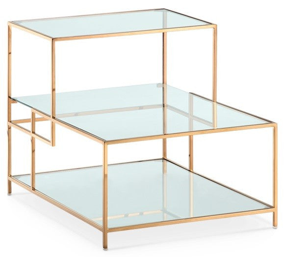 Muse Side Table ROSE GOLD   Apt2B