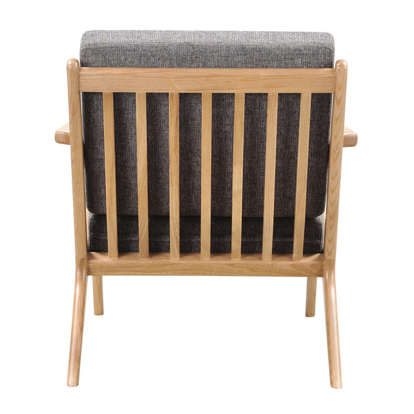 jet accent chair natural wood finish choice of colors apt2b