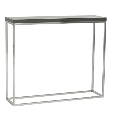 Kings Road Console Table GRAY/CHROME - Apt2B - 1