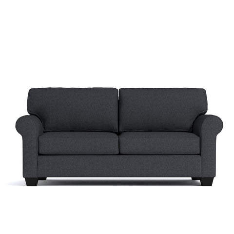 Lafayette Loveseat in CHARCOAL - CLEARANCE