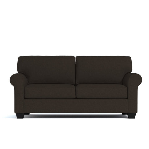 Lafayette Apartment Size Sofa In ESPRESSO   CLEARANCE