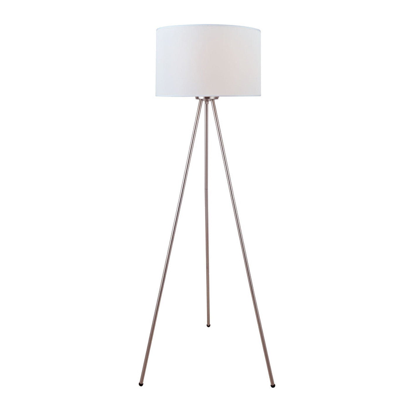 Lambert Three Legged Lamp STEEL/WHITE