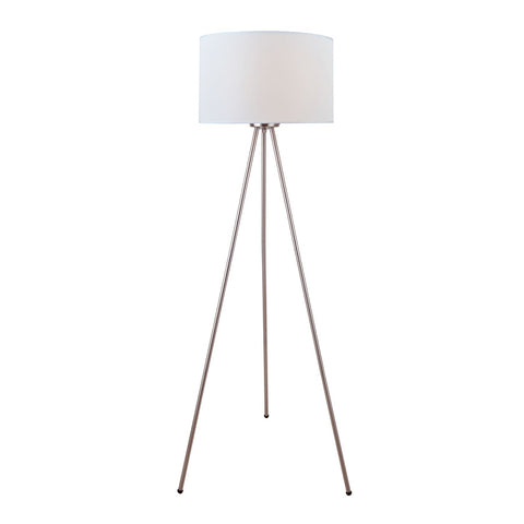 Lambert Three Legged Lamp STEEL/WHITE - Apt2B