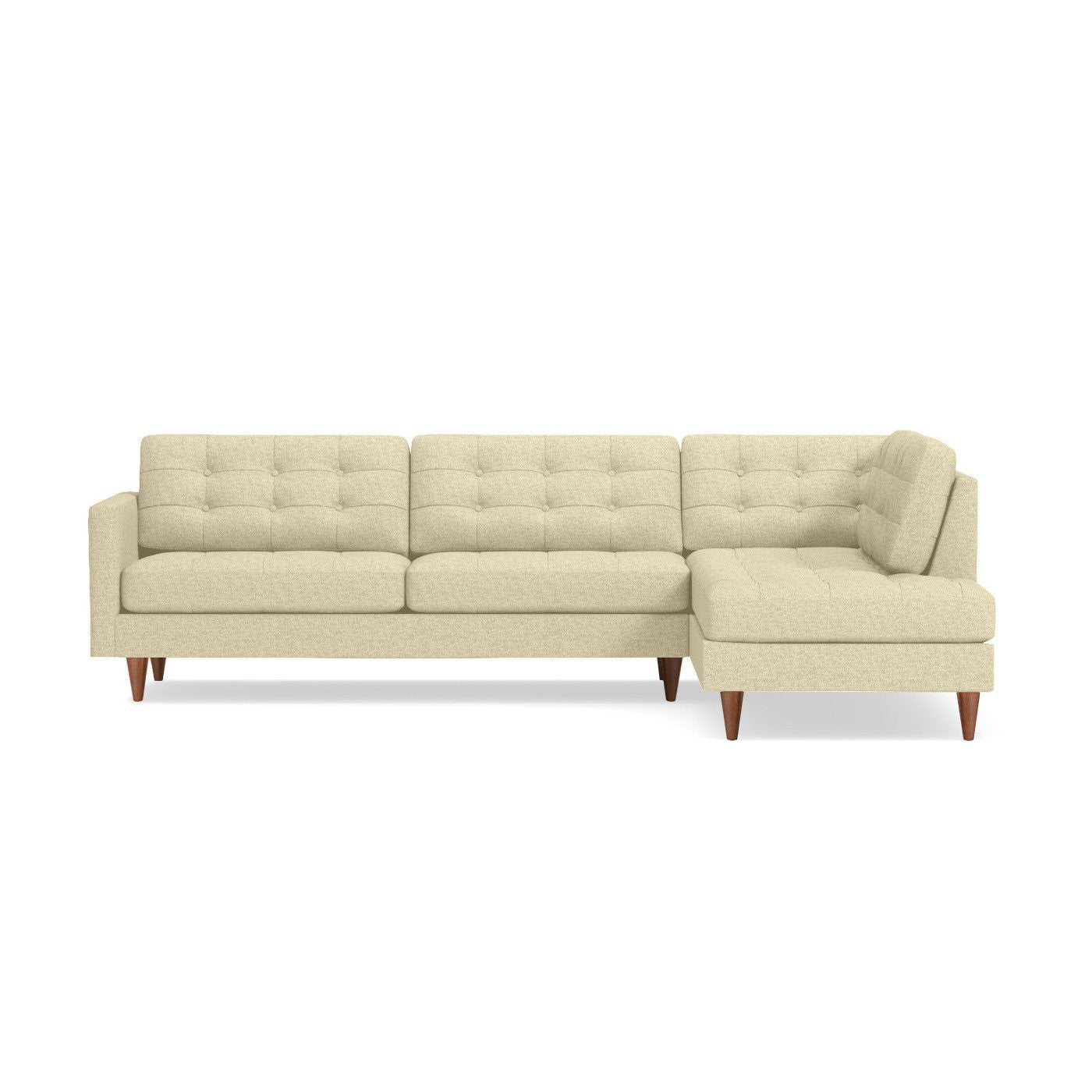 Lexington Two Piece Sectional Sofa Choice of Fabric – Apt2B