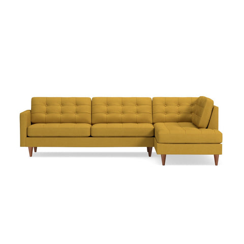 Lexington 2pc Sectional Sofa CHOICE OF FABRICS