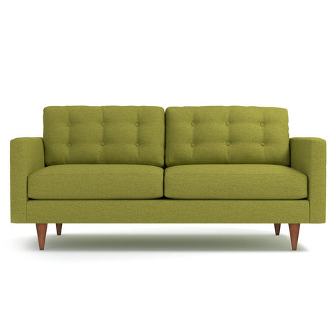 Logan Apartment Size Sofa in GREEN APPLE - CLEARANCE