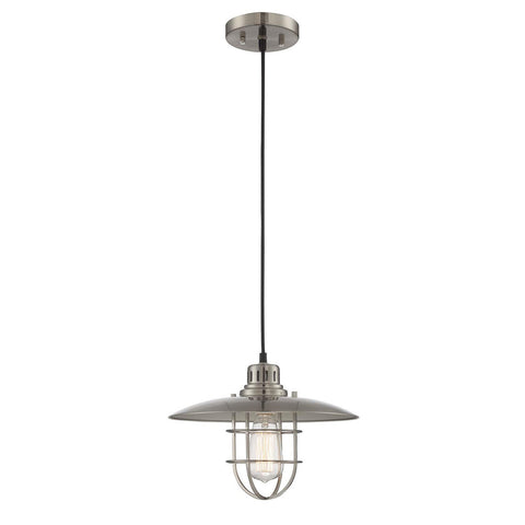 Edison Pendant Lamp POLISHED STEEL - Apt2B