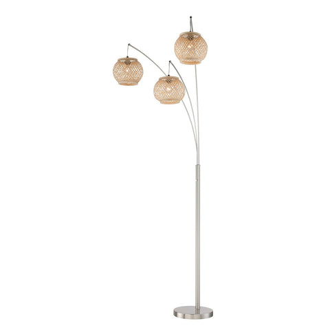 Villa 3 Light Floor Lamp - Apt2B