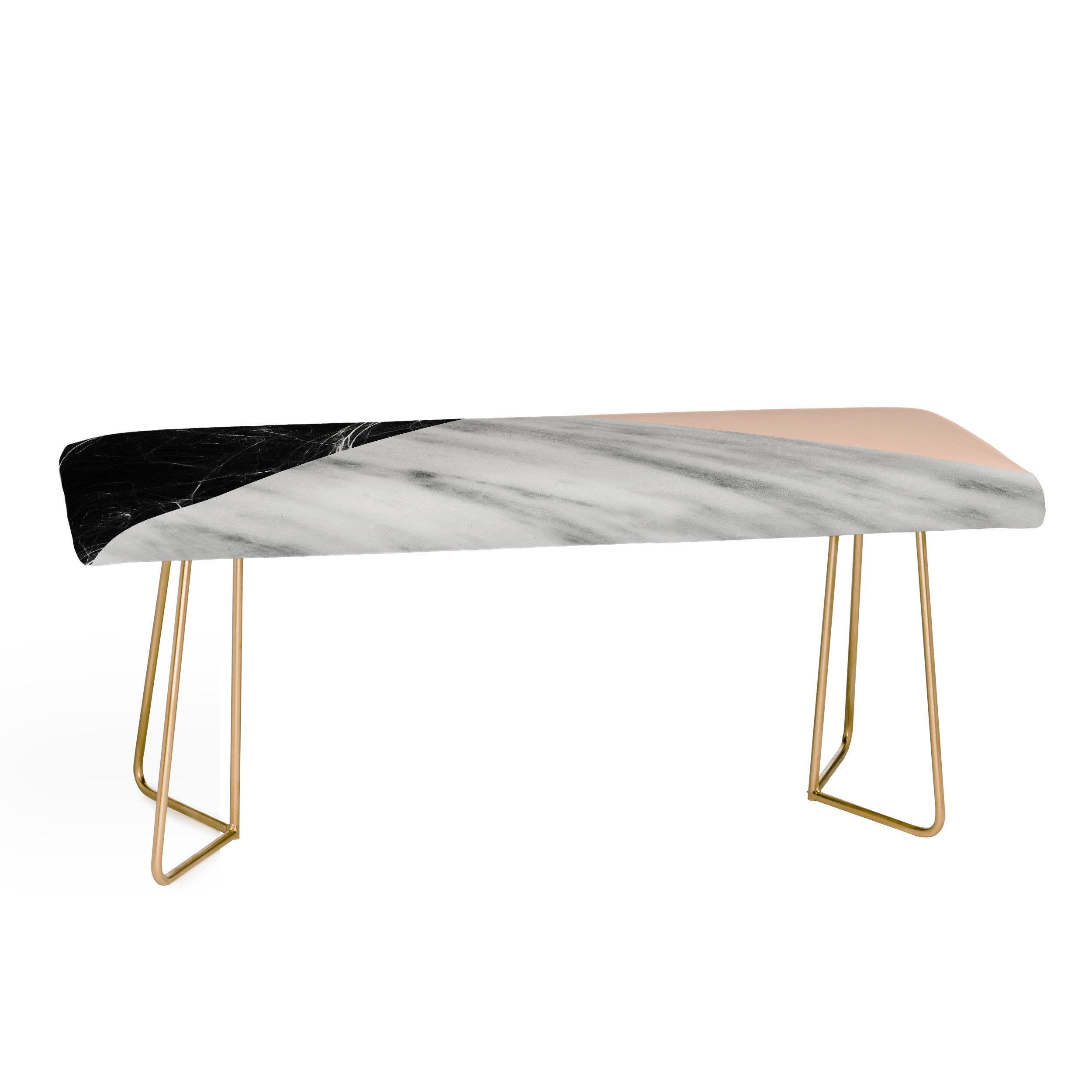 marble collage with pink bench by emanuela carratoni – aptb - marble collage with pink bench by emanuela carratoni