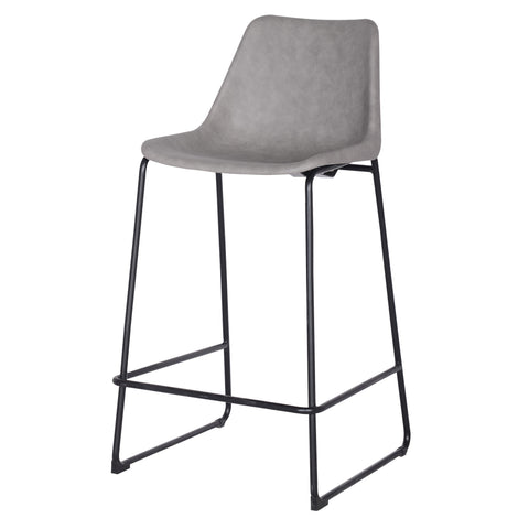 Maverick Bar Stool - VINTAGE MIST GREY