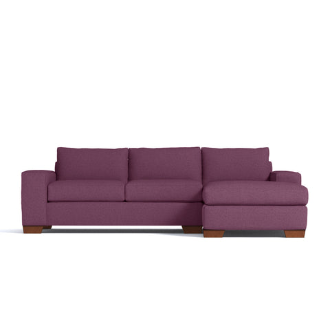 Melrose 2pc Sectional Sofa CHOICE OF FABRICS