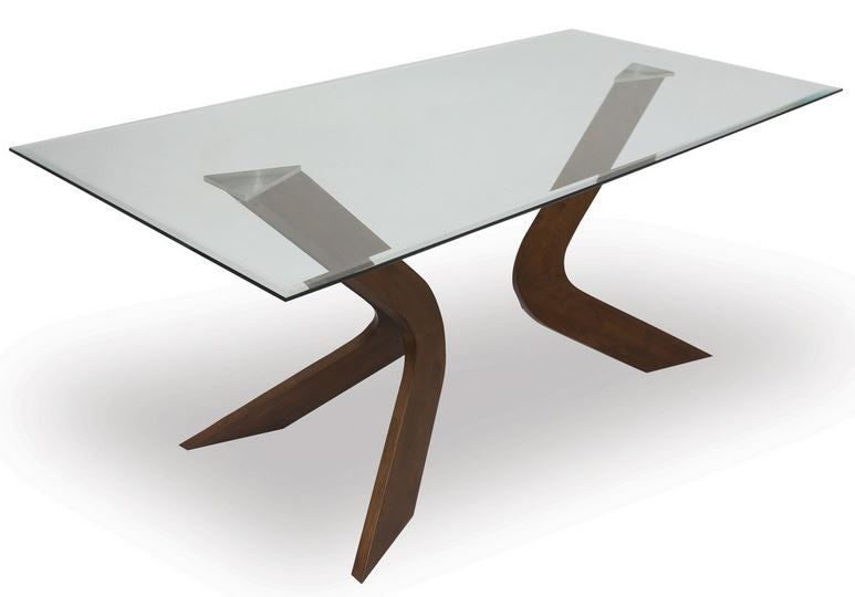 Mulberry Sculpted Dining Table WALNUT