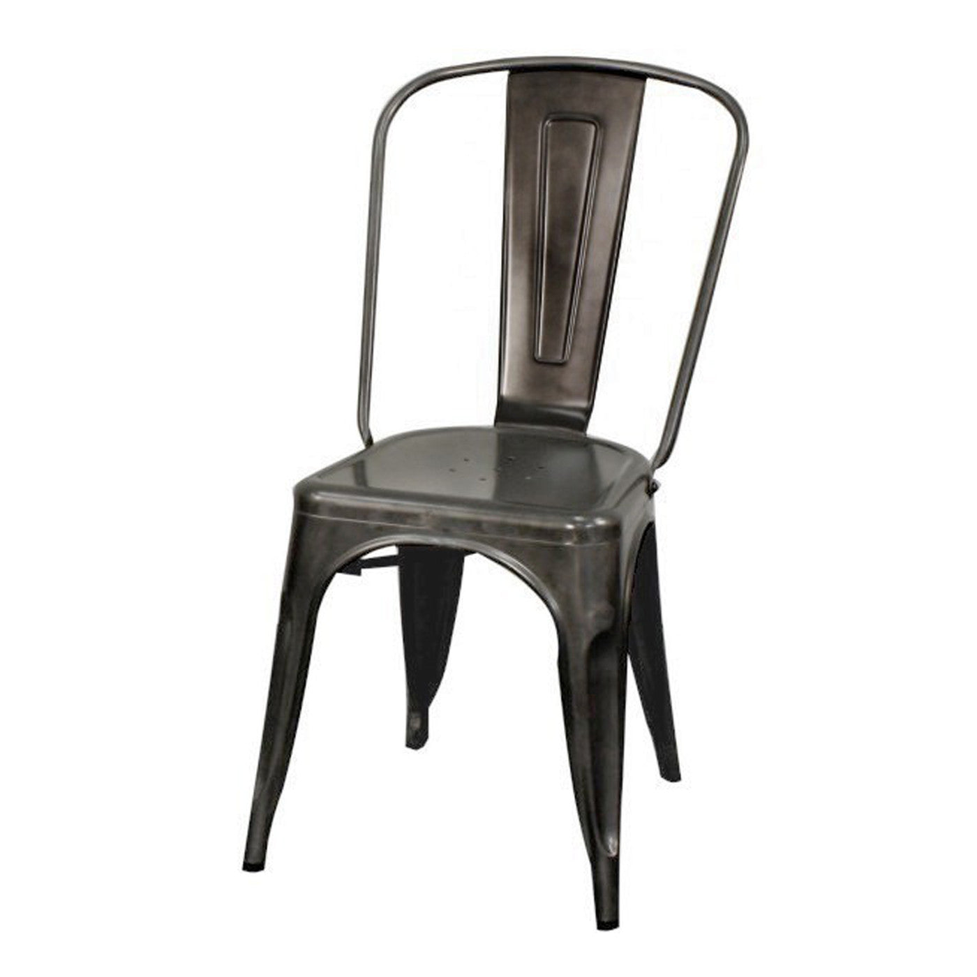 Oxford Metal Chair- Set of 4 GUNMETAL
