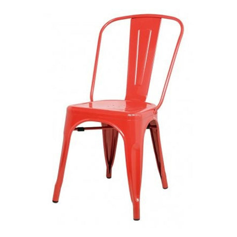 Oxford Metal Chair- Set of 4 RED - Apt2B