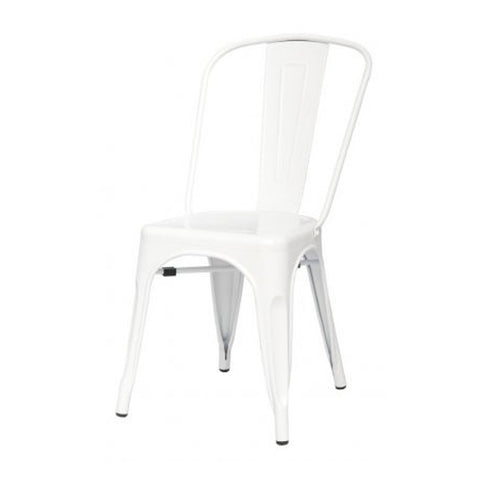 Oxford Metal Chair- Set of 4 WHITE - Apt2B