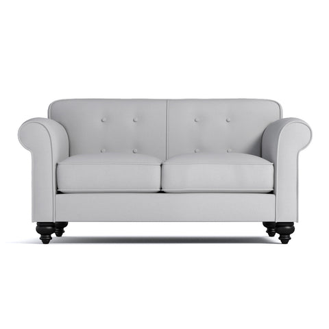 Pico Tufted Back Apartment Size Sofa CHOICE OF FABRICS - Apt2B - 1