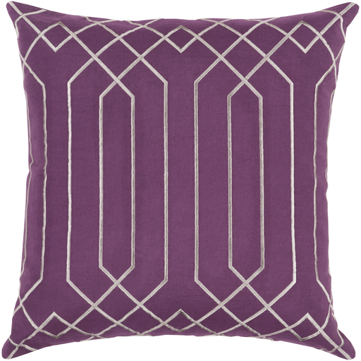 Portner Toss Pillow EGGPLANT