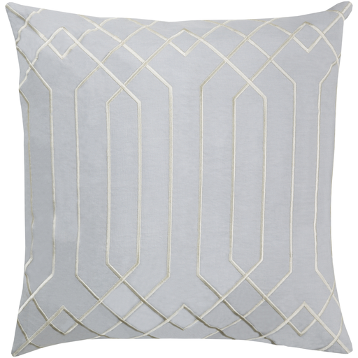 Portner Toss Pillow LIGHT GRAY