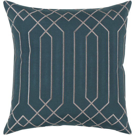 Portner Toss Pillow TEAL