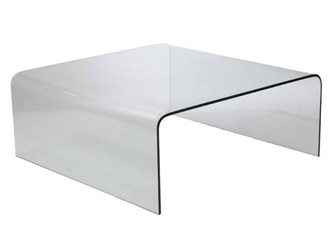 Sally Glass Coffee Table CLEAR - Apt2B - 1