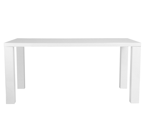 Cloverdale Table WHITE LACQUER - Apt2B - 1