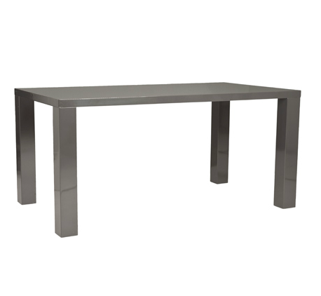 Cloverdale Table GRAY LACQUER