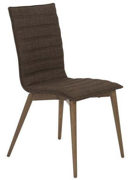Upland Side Chair Set of 2 BROWN