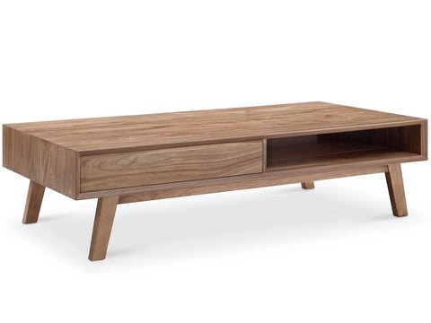Victory Rect Coffee Table WALNUT - Apt2B - 1