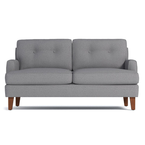 Virgil Apartment Size Sofa CHOICE OF FABRICS