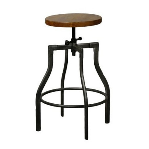 Wooster Street Bar/Counter Stool PINE/GUN METAL - Apt2B