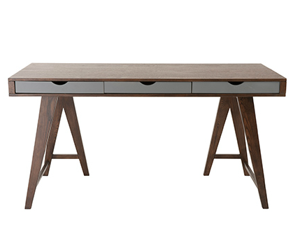 York Desk WALNUT - Apt2B - 1