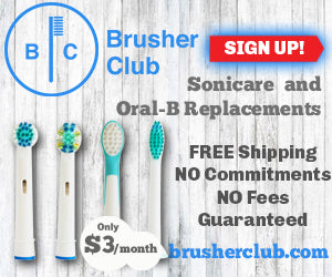 Brusher Club Sonicare and Oral-B Replacements