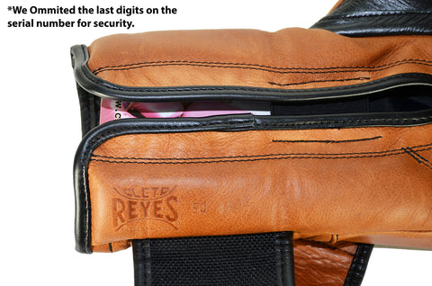 Cleto Reyes gloves serial number