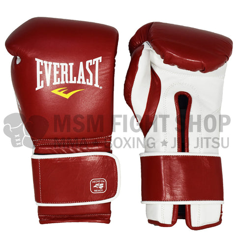 Everlast MX Boxing Gloves velcro red