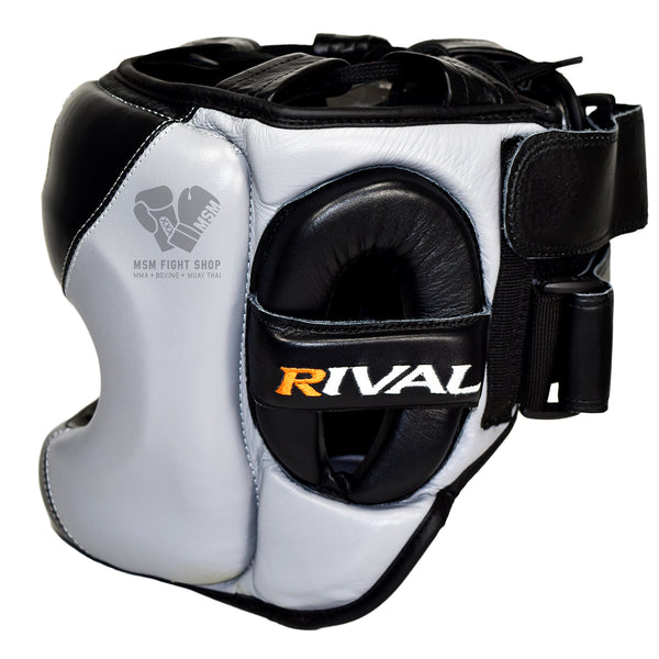 Rival Boxing Head guard with metal bar great protection