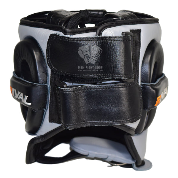 Rival Boxing Headgear with metal bar