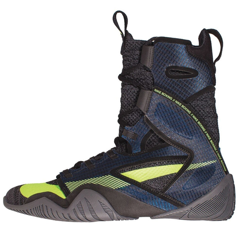 NIKE SHOES HYPERKO 2 DARK BLUE / NEON