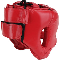 CLETO REYES HEADGEAR NYLON BAR RED - MSM FIGHT SHOP