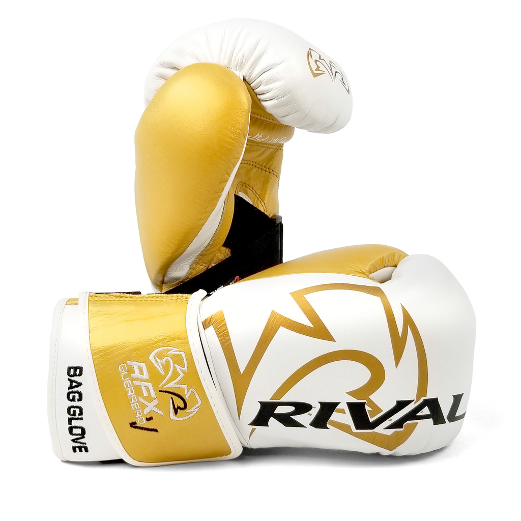 RIVAL RFX GUERRERO BAG GLOVE WHITE/GOLD
