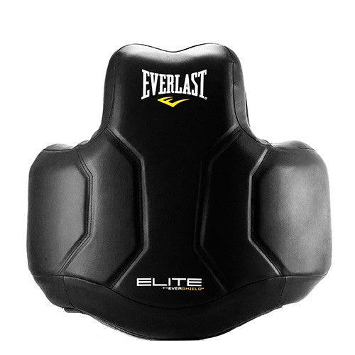 EVERLAST ELITE BODY PROTECTOR BLACK/YELLOW - MSM FIGHT SHOP