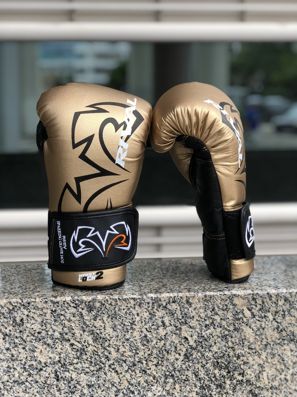 Rival boxing gloves gold rs11v
