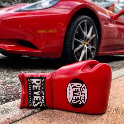 Cleto Reyes Leather boxing gloves red