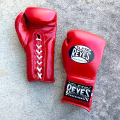 CLETO REYES BOXING GLOVES LACE RED
