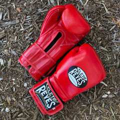 Cleto Reyes Red Velcro Gloves