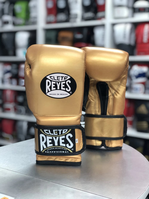 CLETO REYES GLOVES VELCRO LIMITED GOLD