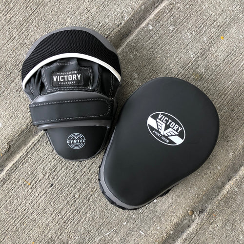 VICTORY FOCUS MITTS CLASSIC SYN BLACK/GREY