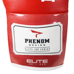 PHENOM BOXING FIGHT GLOVES ELITE XDF-200 LACE RED - MSM FIGHT SHOP