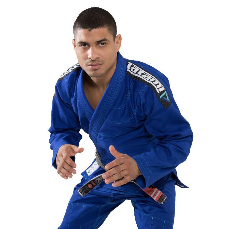 TATAMI GI ADULT ELEMENTS ULTRALITE KIMONO BLUE - MSM FIGHT SHOP